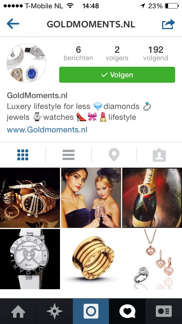 Follow also on instagram GoldMoments.nl