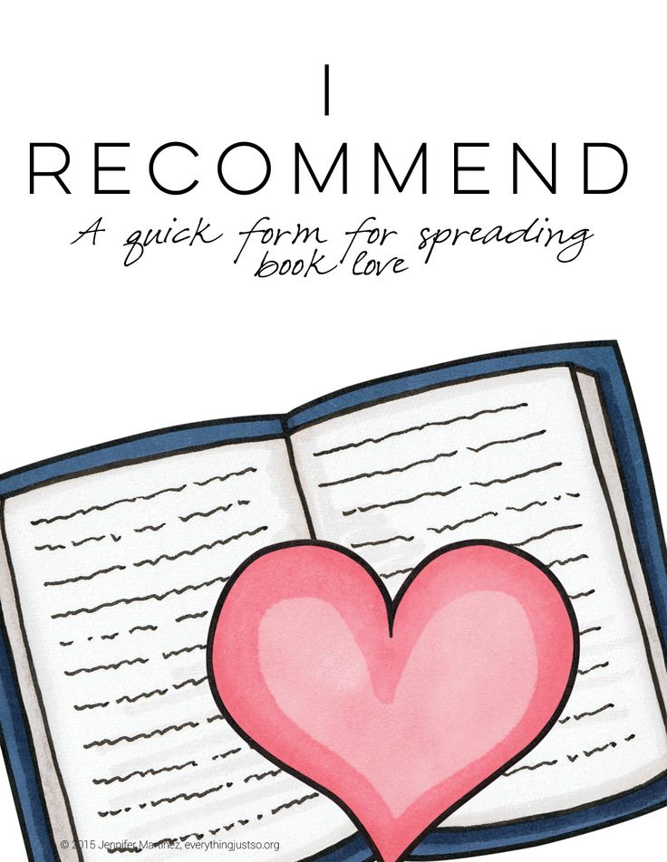 I Recommend: This FREE resource is sure to get your students involved in recommending and sharing books they've read with others. Perfect for building connections and engaging reluctant readers. | everythingjustso.org