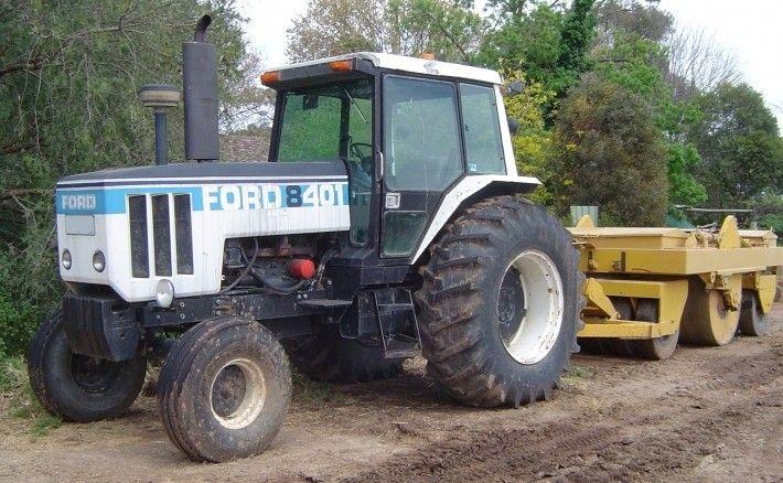 Ford 8401 80 85 109 Hp Tractors Ford Tractors Farm Equipment