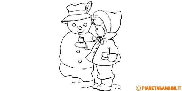 55 migliori immagini disegni di alimenti da colorare su for Disegni sull inverno