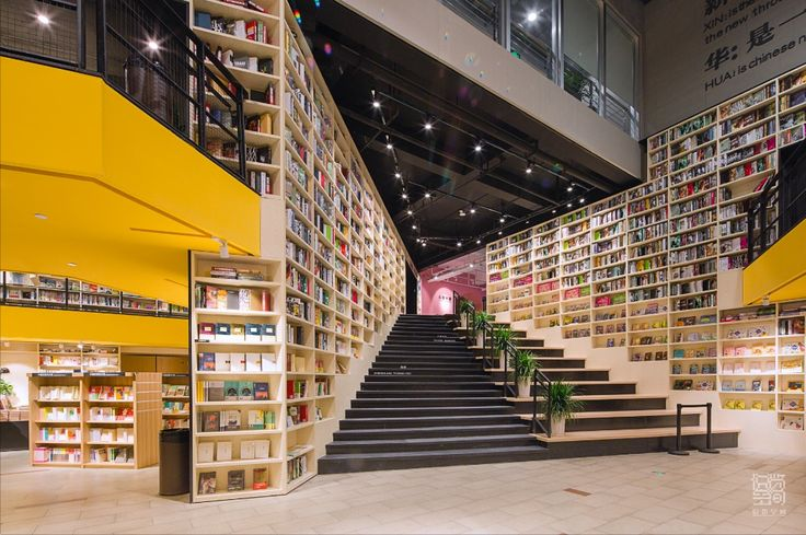 Completed in 2015 in Tongling, ChinaThe library is built together in the school library on the basis of the original design plan, the formation of Tongling City Library, three Hall...