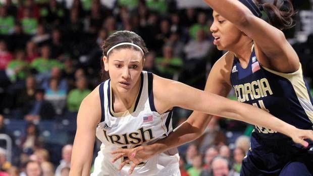 Canadian Natalie Achonwa making basketball history at Notre Dame