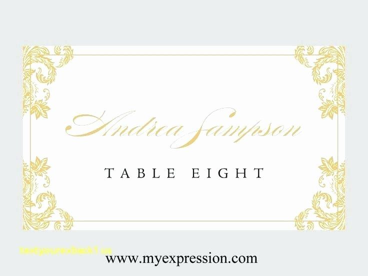 Place Card Size Template Best Of Table Name Cards Template Card Publisher Wedding Place Table Name Cards Cards Name Cards