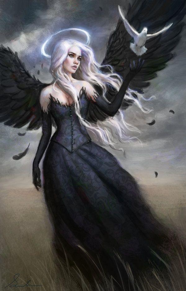 Black Angel by Selenada.deviantart.com on @deviantART