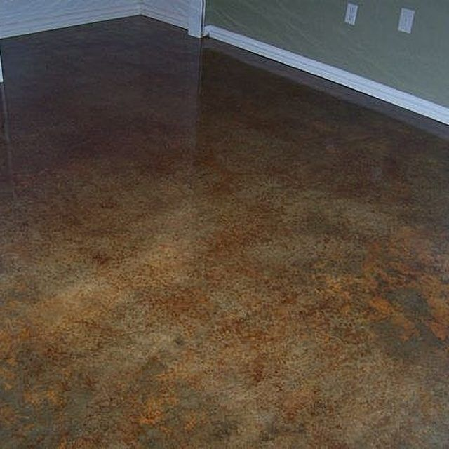 17 best images about concrete floors on pinterest stains for Best way to clean concrete floors before staining