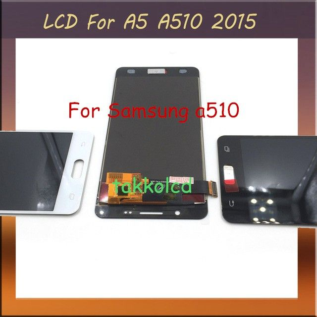 For Samsung Galaxy A5 2016 A510 Lcd Screen Touch Pantalla Glass Digitizer Phone Replacement