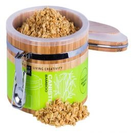 Storage Canister w/window | Kitchen | Wood and Bamboo products