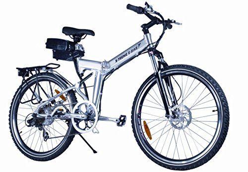 X-Treme Scooter X-Cursion Electric Folding Mountain Bike, eBIke http://www.safetygearhq.com/product/trending-products/electrical-bikes/x-treme-scooter-x-cursion-electric-folding-mountain-bike-ebike/