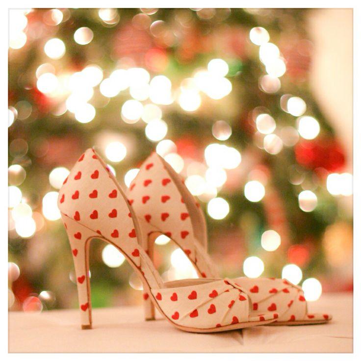 Alice and Olivia heart shoes #aliceandolivia #hearts #shoes