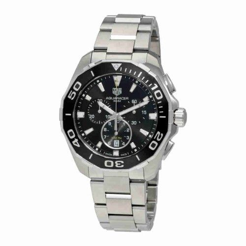 Tag Heuer Aquaracer Chronograph Black Dial Men's Watch CAY111A.BA0927