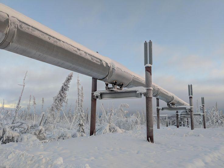 ITAP of the Alaskan pipeline