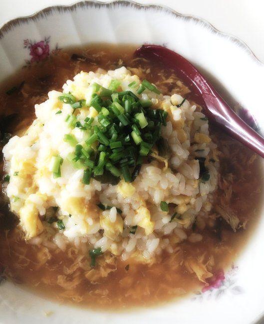市販の中華スープを使って作る!フカヒレあんかけチャーハンの作り方 ...