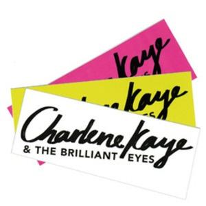 Charlene Kaye and the Brilliant Eyes Sticker Pack #charlenekaye