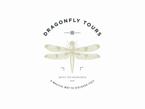 Dragonfly Tours by Giacomo Drudi, via Behance