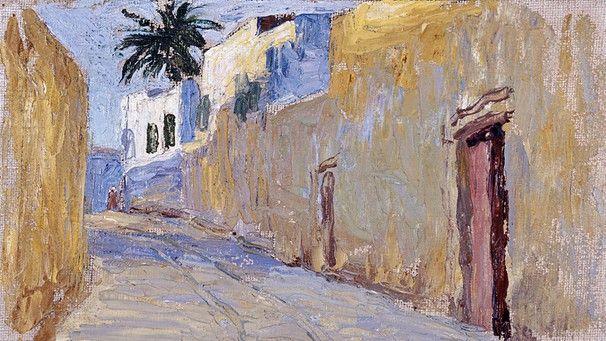 Gasse In Tunis 1905 Bild Gabriele Munter Und Johannes Eichner Stiftung Foto Stadtische Galerie Im Lenbachhaus Und Kuns Gabriele Munter Painting Fine Art