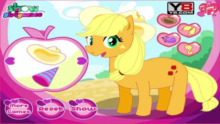 Game for Kids - My Little Pony Jack Feet Doctor