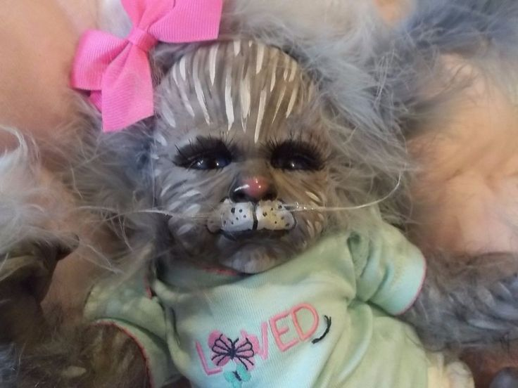 ~~~~~~~~I HAVE BEEN A REBORN ARTIST SINCE 2005 AND LOVE THE ART. EVERY CREATION IS UNIQUE AND ORIGINAL.-ANIMALS AND MYTHICAL/horror DOLLS ARE MY SPECIALTY! ~~~~~~~~~. AND HYBRID CAT REBORN BABY ADOPTION / BIRTH CERTIFICATE WITH CARE GUIDE.   eBay!