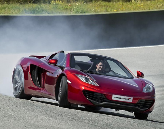 Attractive McLaren Spider Sportscar Launched At A Price Of