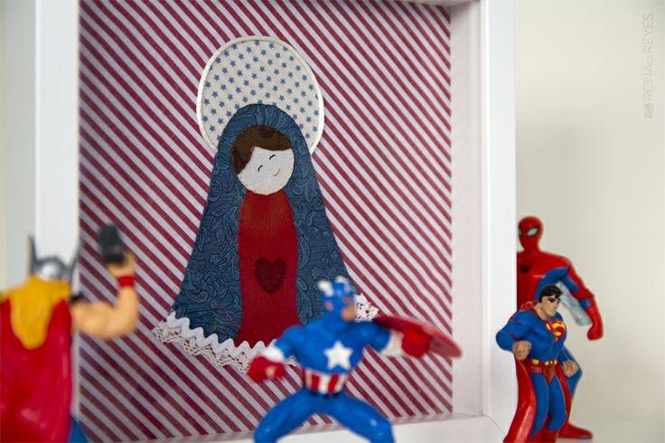 Para los chicotes, al más puro estilo Capitán América y cía.
