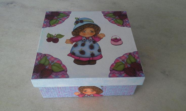 Caixa biju infantil - www.elo7.com.br/esterartes