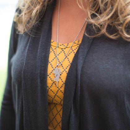 Just a singlet v-neck - harlequin saffron