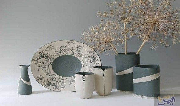 أفكار عصرية للحصول على مظهر مميز للفازات في المنزل Home Plates Tableware