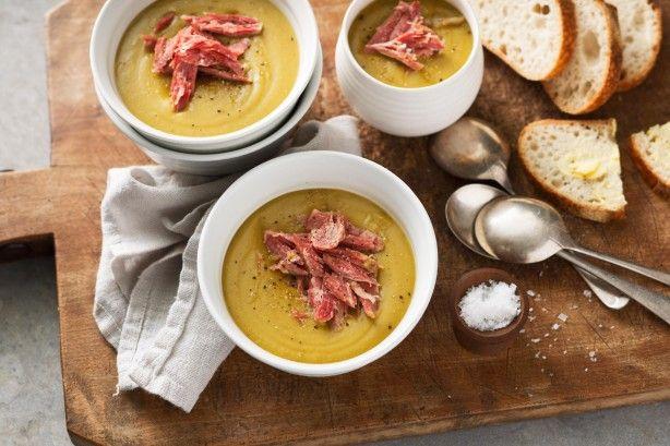 Pea & ham soup main image