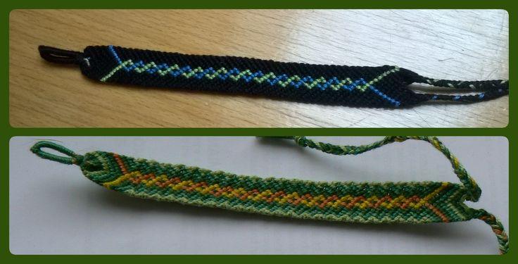 Friendship bracelet DNA