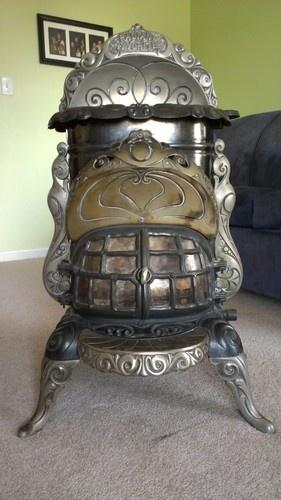 images  victorian cast iron heaters  pinterest stove antiques  coal stove