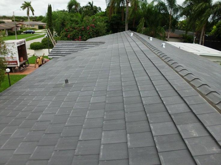 Concrete Tile Boral Saxony Stone Mountain Blend Roofing