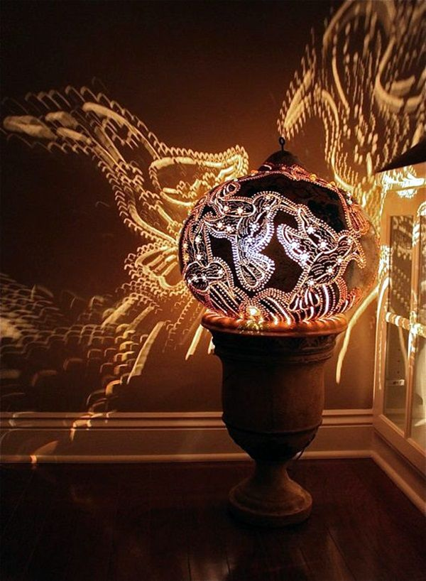Amazing Art Inspired Gourd Lamps (44)