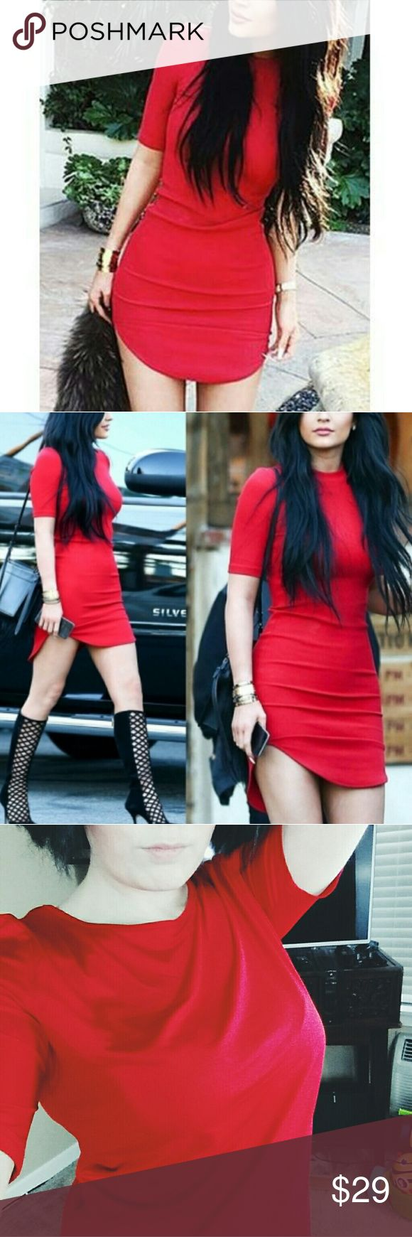 Red mini dress Gorgeous red mino dress. Love this piece and you will too! Item as shown in photos above! Dresses Mini