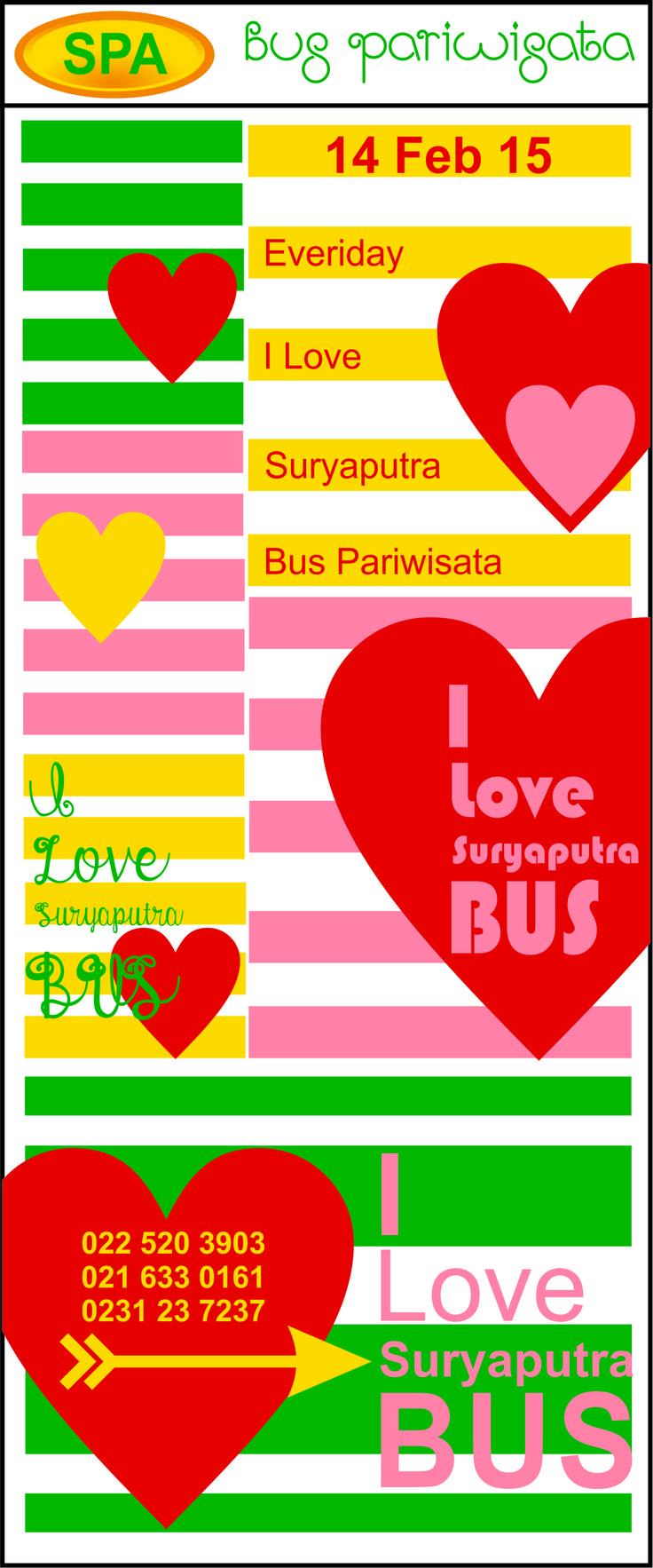 Bus Pariwisata Valentine 2015