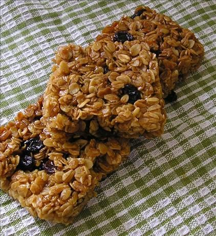 ***** Chewy English Flapjack ***** from Food.com:   								This recipe is for a tradional english cake/dessert/snack. everyone in my family loves this recipe, though its so old i cant remember where it came from. we all love it because its such a sweet, gooey, rich comfort food! its so easy to make, why not try it out? there are variations in this recipe, so you can try out the different optional ingredients, or even a combination of them!
