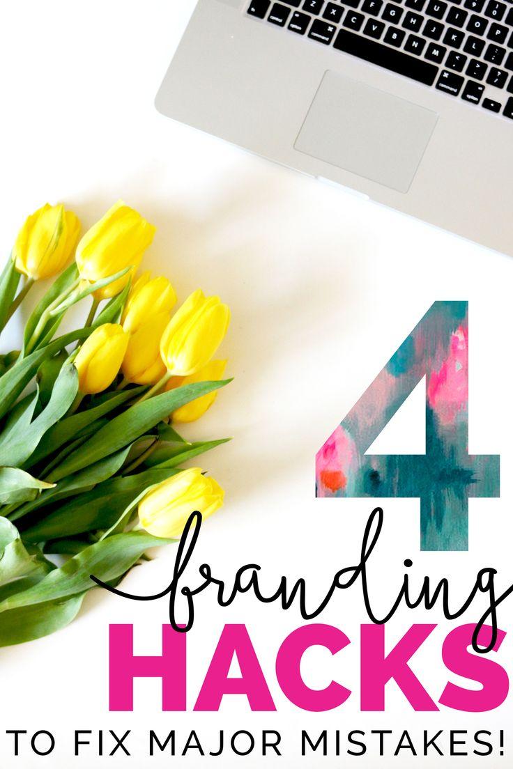 4 branding hacks to fix major mistakes | LOVE PLUS COLOR