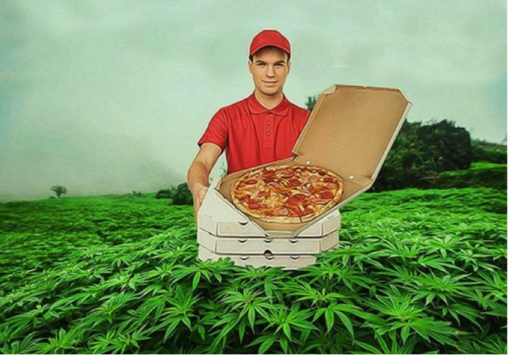 Saludable, medicinal y también una poderosa arma creativa. La marihuana inspira a este artista y sus obras muestran las ironías de nuestra vida.