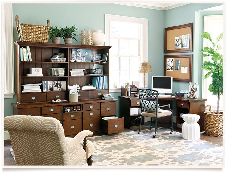 Ballard designs belgrado home office for mudroom love the colors love the rug like the - Ballard design home office ...