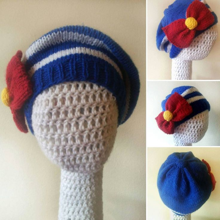 Finally finished and ready for the giveaway!  Wanna win a Sailor Moon beret? Follow us in FB http://facebook.com/dubiduaccesorios (in english) or http://facebook.com/dubiduaccesorios (in spanish) #dubiduaccesories #knitting  #beret #sailormoon #giveaway #contest #fb