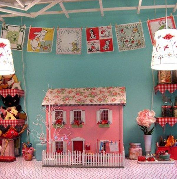 Cute Dollhouses.