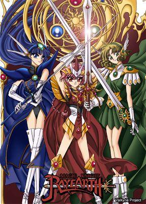 Magic Knight Rayearth (魔法騎士レイアース Mahō Kishi Reiāsu.), llamada Las Guerreras Mágicas en Hispanoamérica y Luchadoras de leyenda en España, es ...