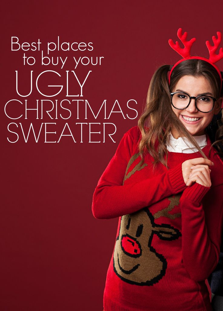Buy an ugly christmas sweater