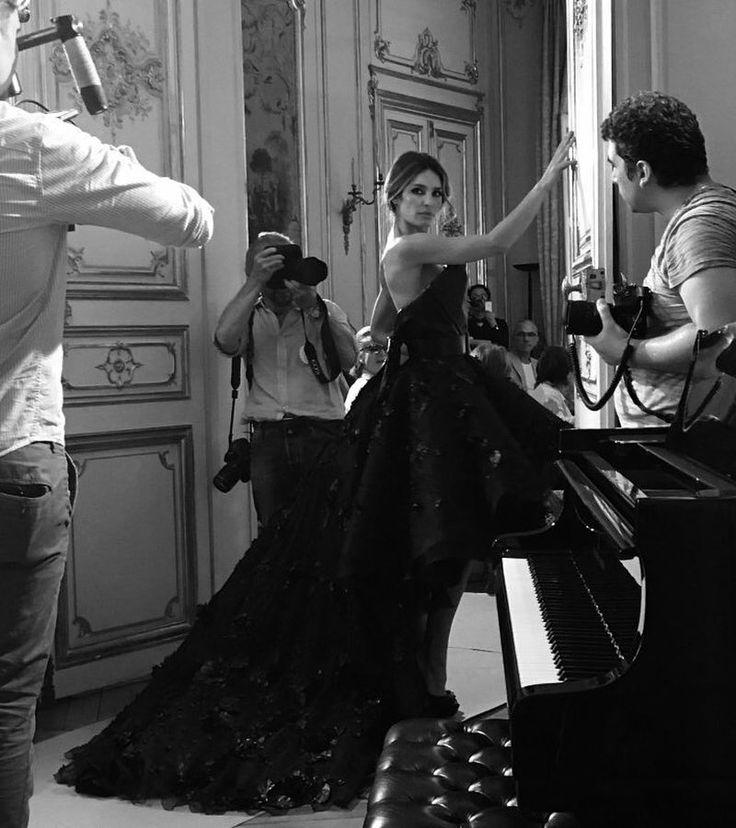 Fashion show Bernard Depoorter Couture Paris @bernarddepoorterofficial @bernarddepoorter #luxe #couture #paris #hautecouture