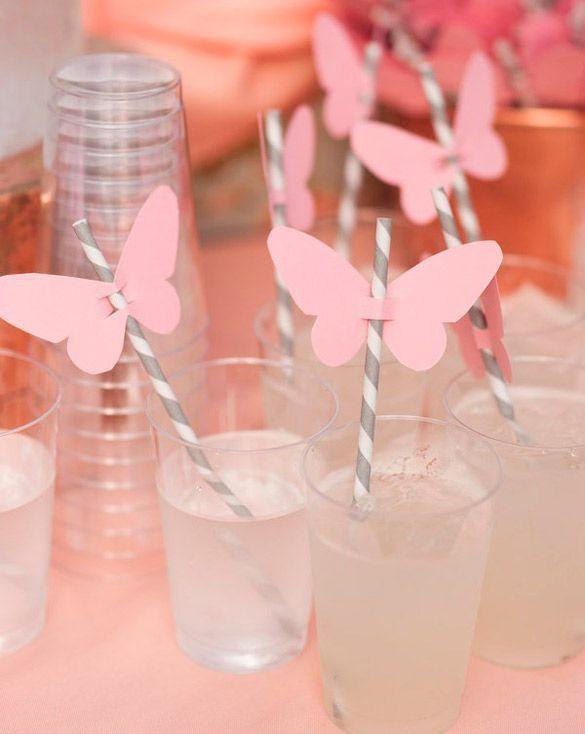 Pajitas Decoradas con Bigotes, Bocas y mariposas. Todas nuestras ideas incluyen las plantillas descargables totalmente gratis. Para organizar tu fiesta