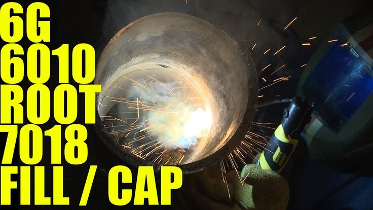 🔥 6g Pipe Welding: 6010 Root 7018 Fill and Cap