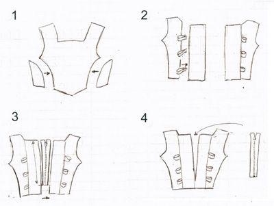 Fournitures Matériel Matériel de couture Bâton de colle hydrosoluble Consommables 200 x 150 cm de doublure satin pour le bustier et la jupe...