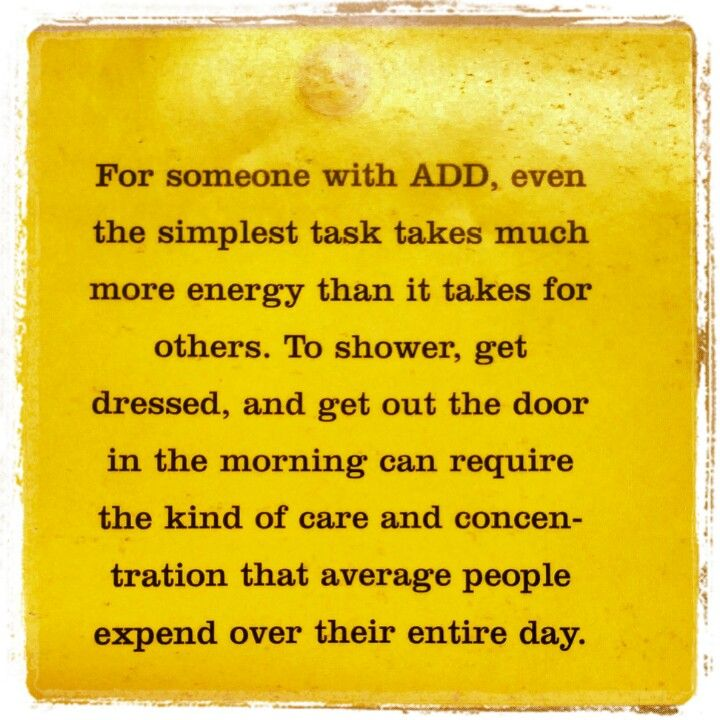 The reality of ADD & ADHD. Yes!!! - However, it doesn't need to continue to…
