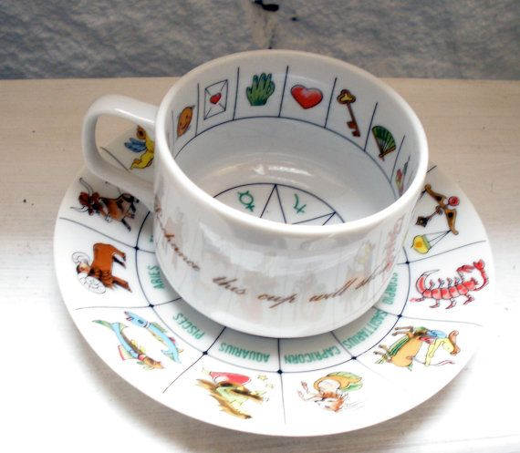 I've always wanted a Vintage Fortune Telling Tea Cup