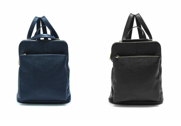 Sleek, minimalist lines define a spacious backpack that serves as an around-town essential: https://storebrandsvip.com/b2b/products/?brand=3&category=2&season=12