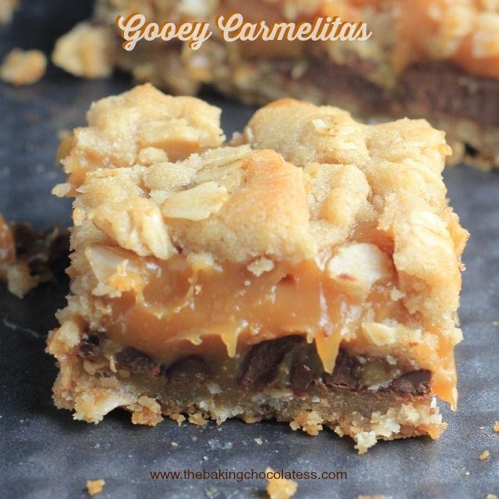 Gooey Carmelitas – The Baking ChocolaTess