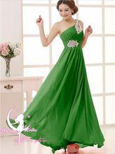 2015 gratis verzending een- schouder kralen thuiskomst partij bal toga formele lange avondjurken vestidos de festa plus size tk089(China (Mainland))